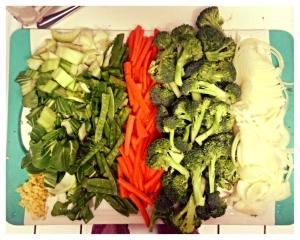 Stirfry veg